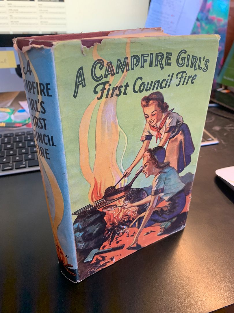 Image for Campfire Girl's First Council Fire; Compfire Girl's Series, Volume 1