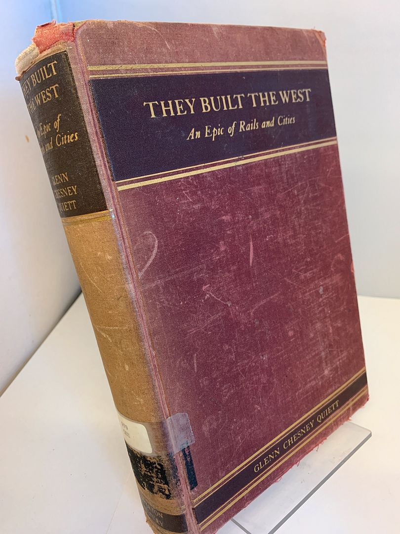Image for They Built the West: An Epic of Rails and Cities