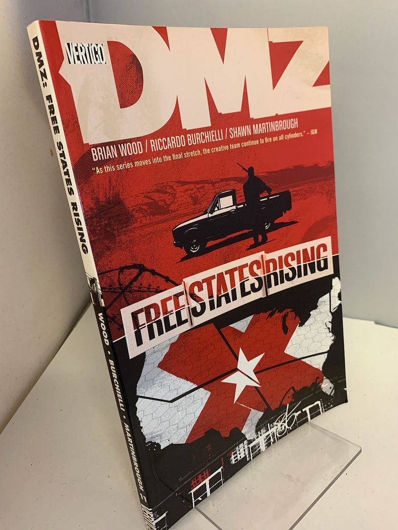 Image for DMZ Vol. 11: Free States Rising