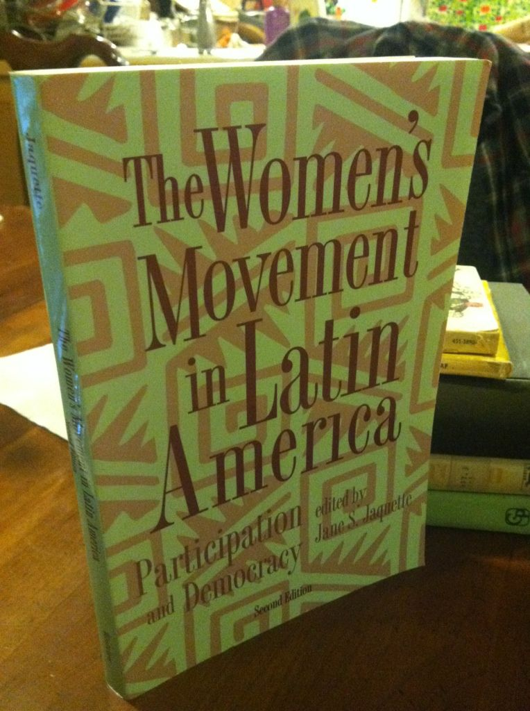 Image for The Women's Movement In Latin America: Participation And Democracy, Second Edition (Thematic Studies in Latin America)