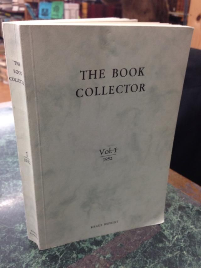 Image for The Book Collector Volume 1 1952 by n/a