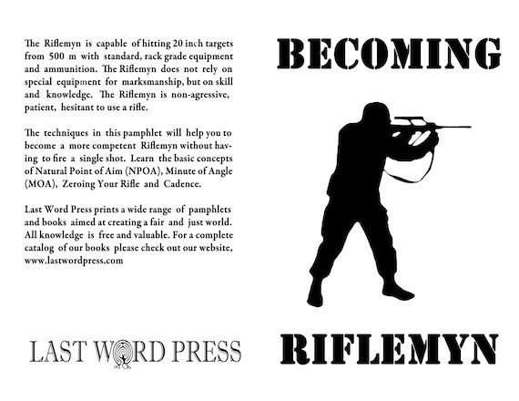 Image for Becoming Riflemyn: A Do-It-Yourself Manual by Project Appleseed