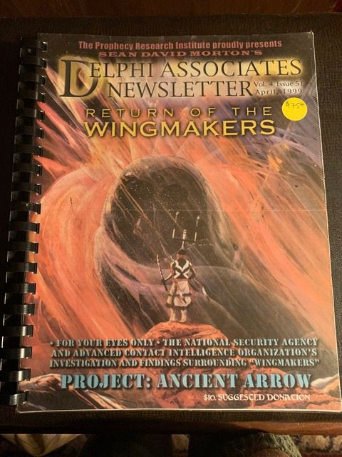 Image for Delphi Associates Newsletter Vol 4 Issue 51 April, 1999 Return of the Wingmakers - Project: Ancient Arrow