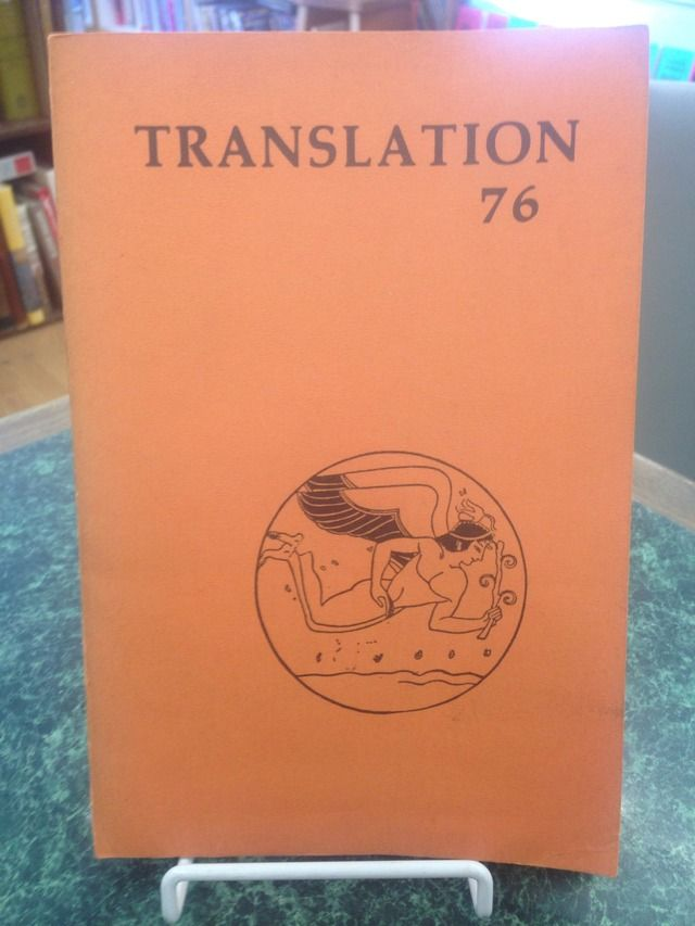 Image for TRANSLATION 76 - VOL. III - WINTER 1976
