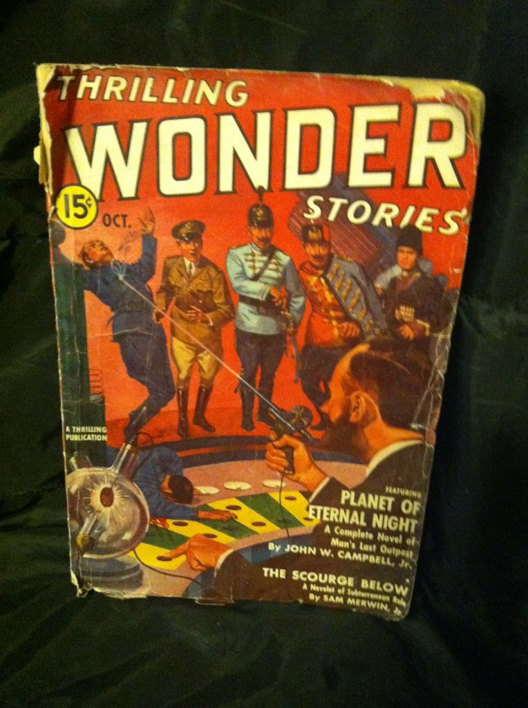 Image for THRILLING WONDER STORIES OCTOBER 1939