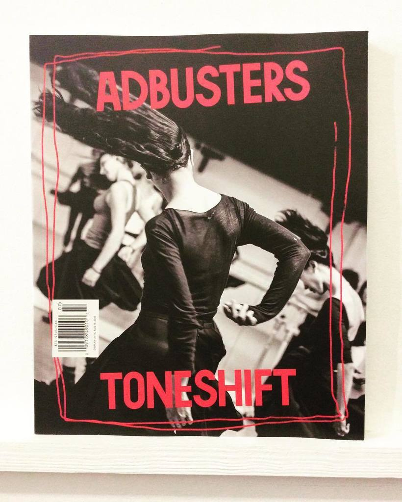 Image for ADBUSTERS MAGAZINE THE YEAR OF LIVING DANGEROUSLY TONESHIFT JULY / AUGUST, 2016
