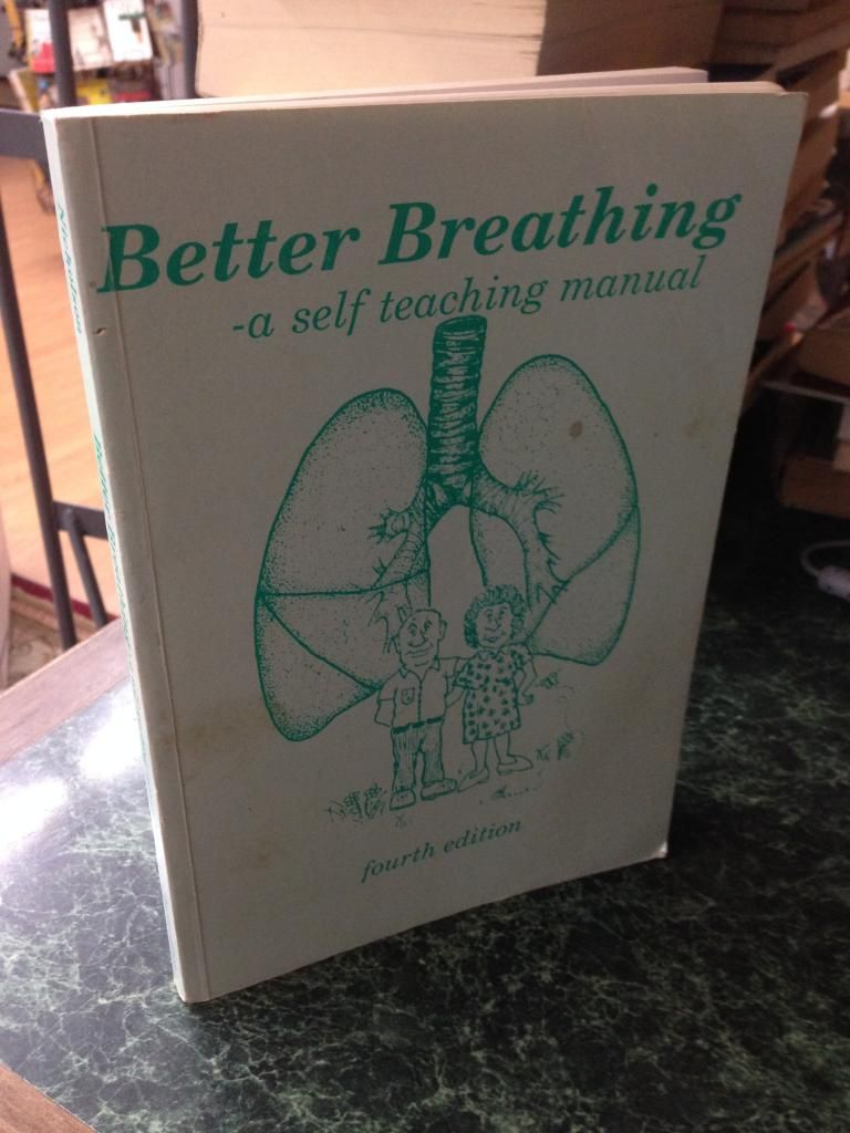 Image for Better breathing: A self-teaching manual