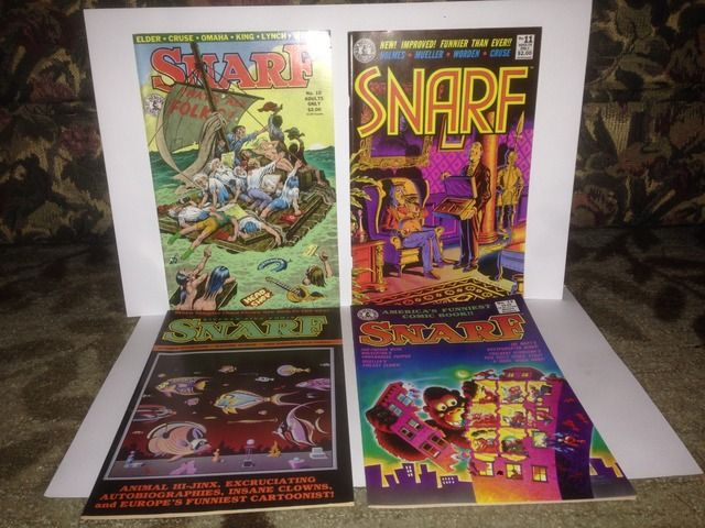 Image for Snarf x 4 Comic Book Lot Kitchen Sink Comix #s 10, 11, 13 & 14 by Kitchen, Denis (Editor)