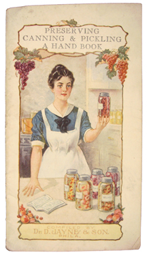 Image for A Hand Book for Canning Preserving and Pickling