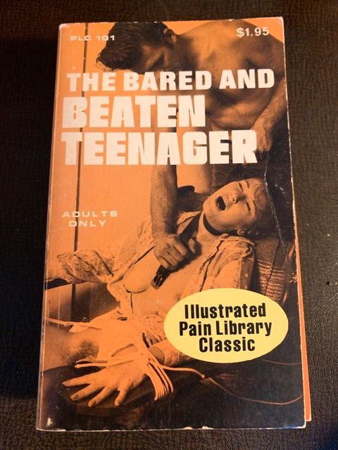 Image for The Bared and Beaten Teenager: Illustrated Pain Library Classic by None listed