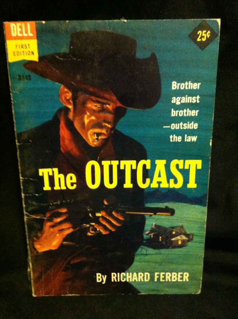 Image for The outcast ([Dell first editions)