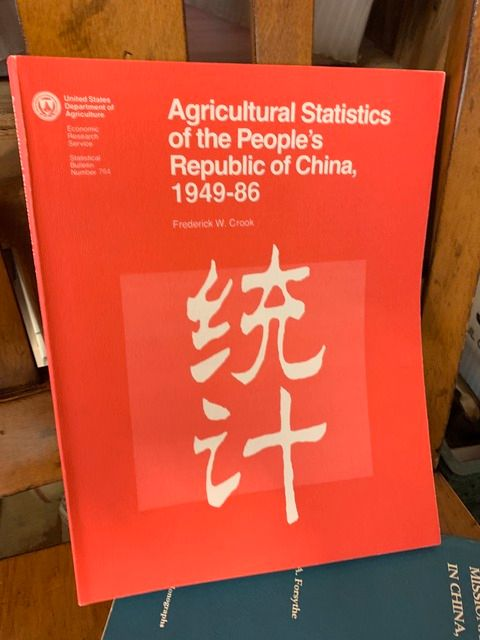 Image for Agricultural Statistics of the People's Republic of China 1949-86