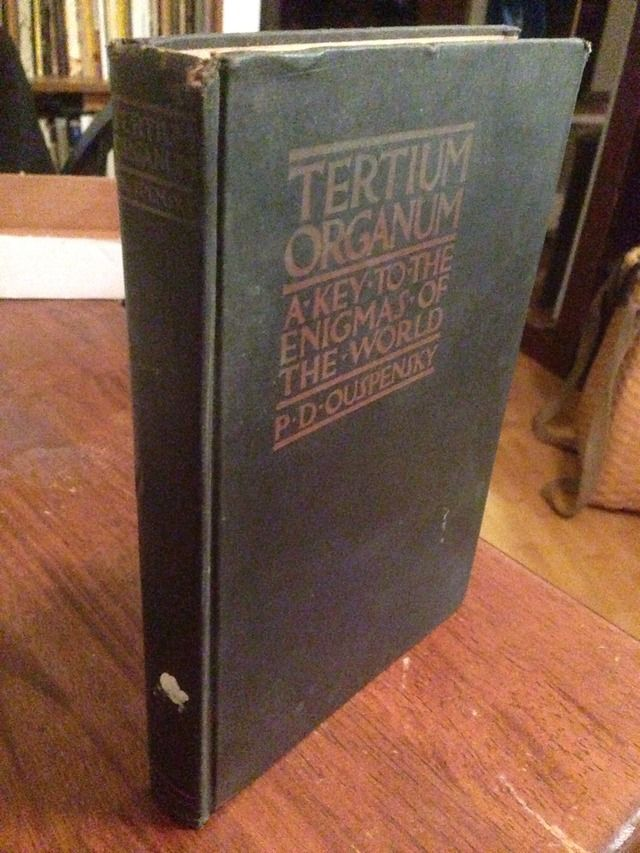 Image for Tertium Organum: The Third Canon of Thought: A Key to The Engimas of the World.