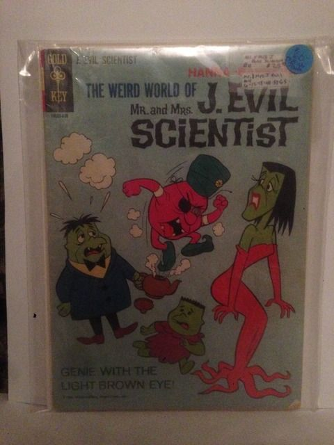 Image for MR. AND MRS. J. EVIL SCIENTIST # 4, 4.5 VG +
