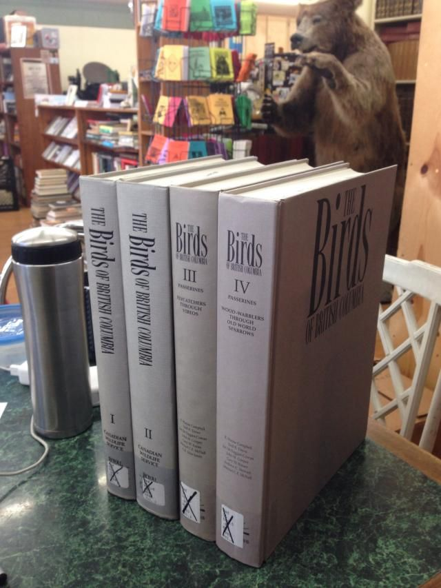 Image for The Birds of British Columbia: 4 Volume Set