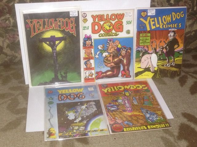 Image for Yellow Dog Comics Lot x 5 The Print Mint #s 13, 19, 21, 22 & 23 by Crumb, Robert; Wilson, S. Clay; & Others