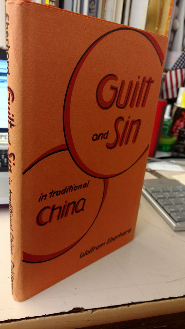 Image for Guilt and Sin in Traditional China