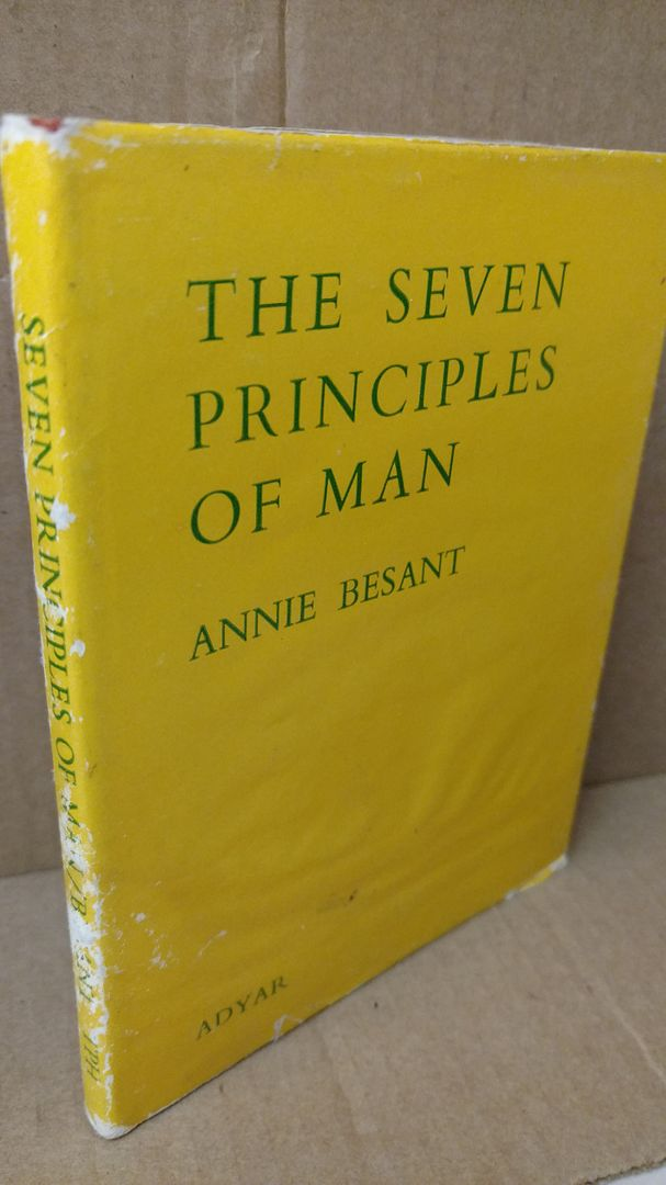 Image for 7 Principles of Man