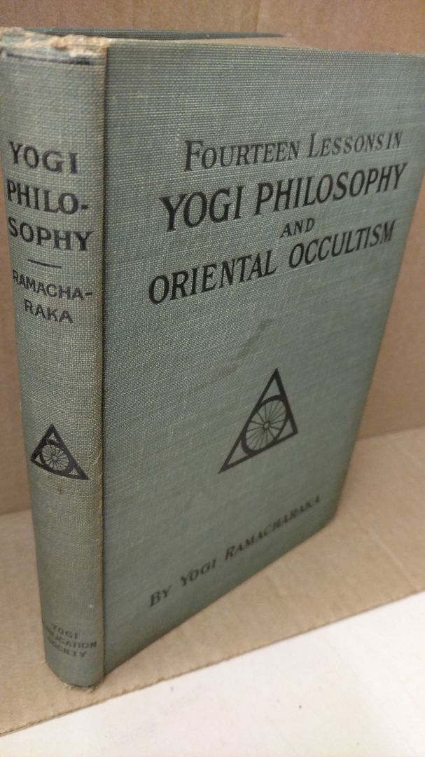 Image for Fourteen Lessons in Yogi Philosophy and Oriental Occultism