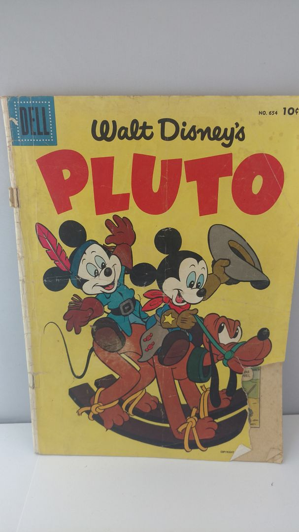 Image for Walt Disney's Pluto #4 (Dell Four-Color #654)