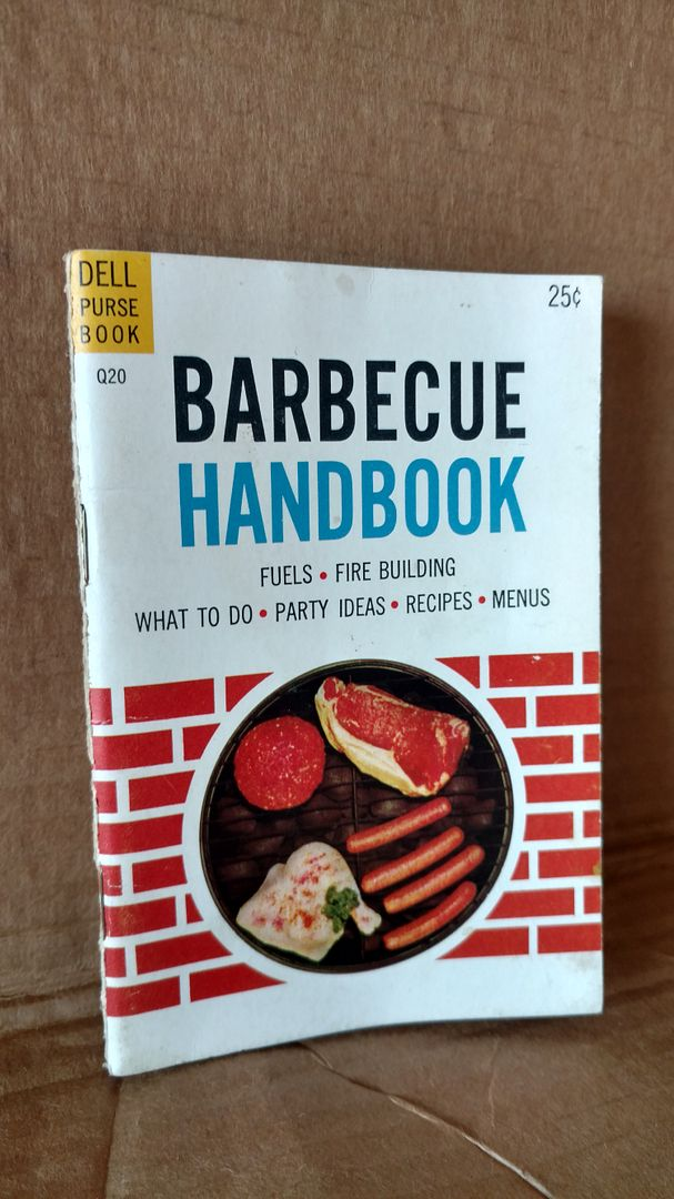 Image for Barbecue Handbook (Dell Pursebook)