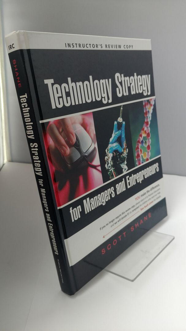 Image for Technology Strategy for Managers and Entrepreneurs (Instructer Review Copy)