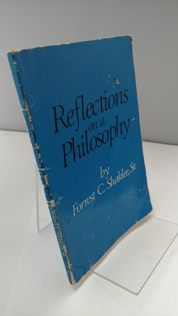 Image for Reflections on a Philosophy