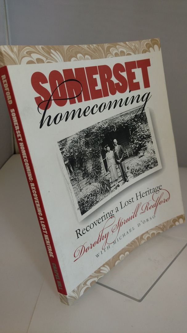 Image for Somerset Homecoming: Recovering a Lost Heritage