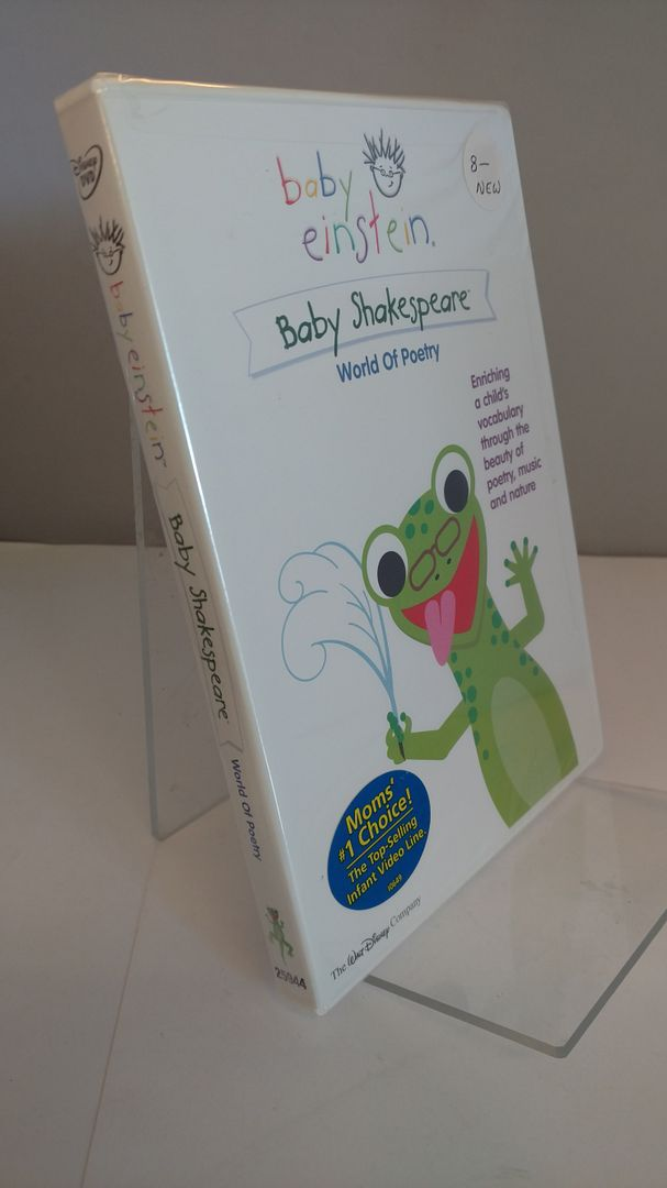 Image for Baby Einstein - Baby Shakespeare - World of Poetry