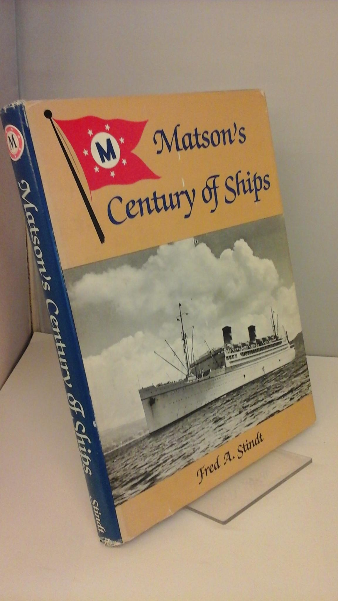 Image for Matson's century of ships