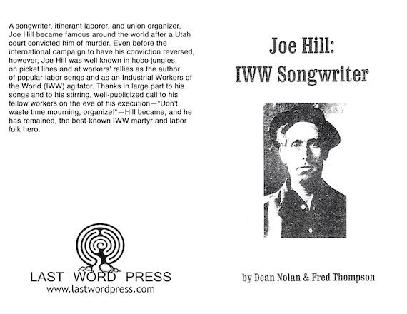 Image for Joe Hill, IWW Songwriter.