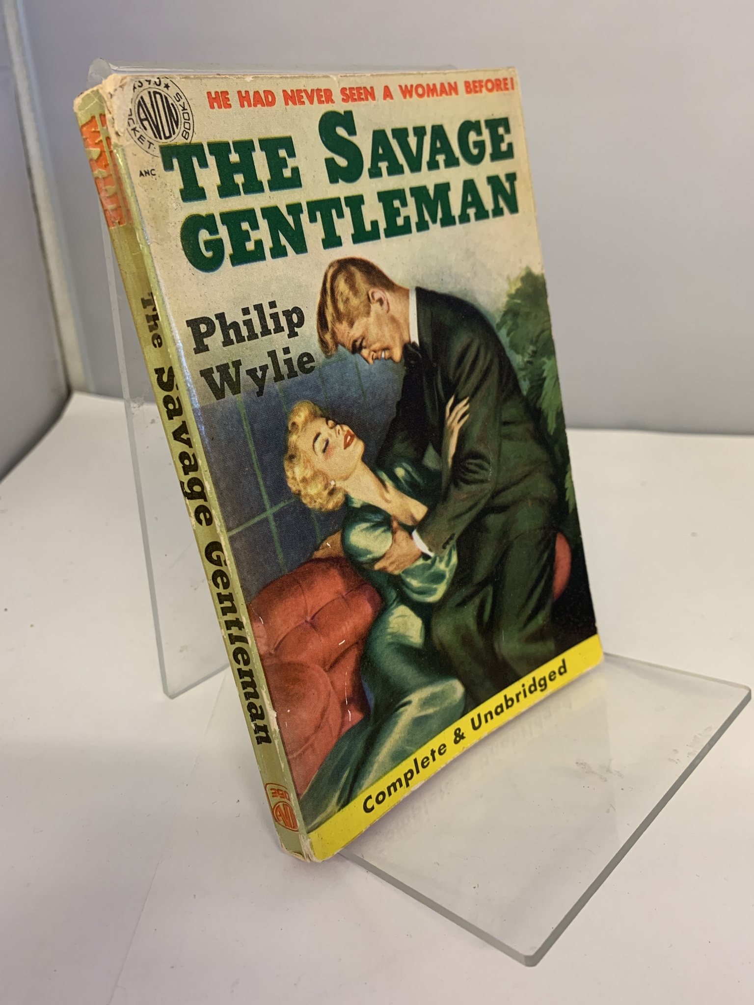 Image for The Savage Gentleman (Avon Paperback #390)