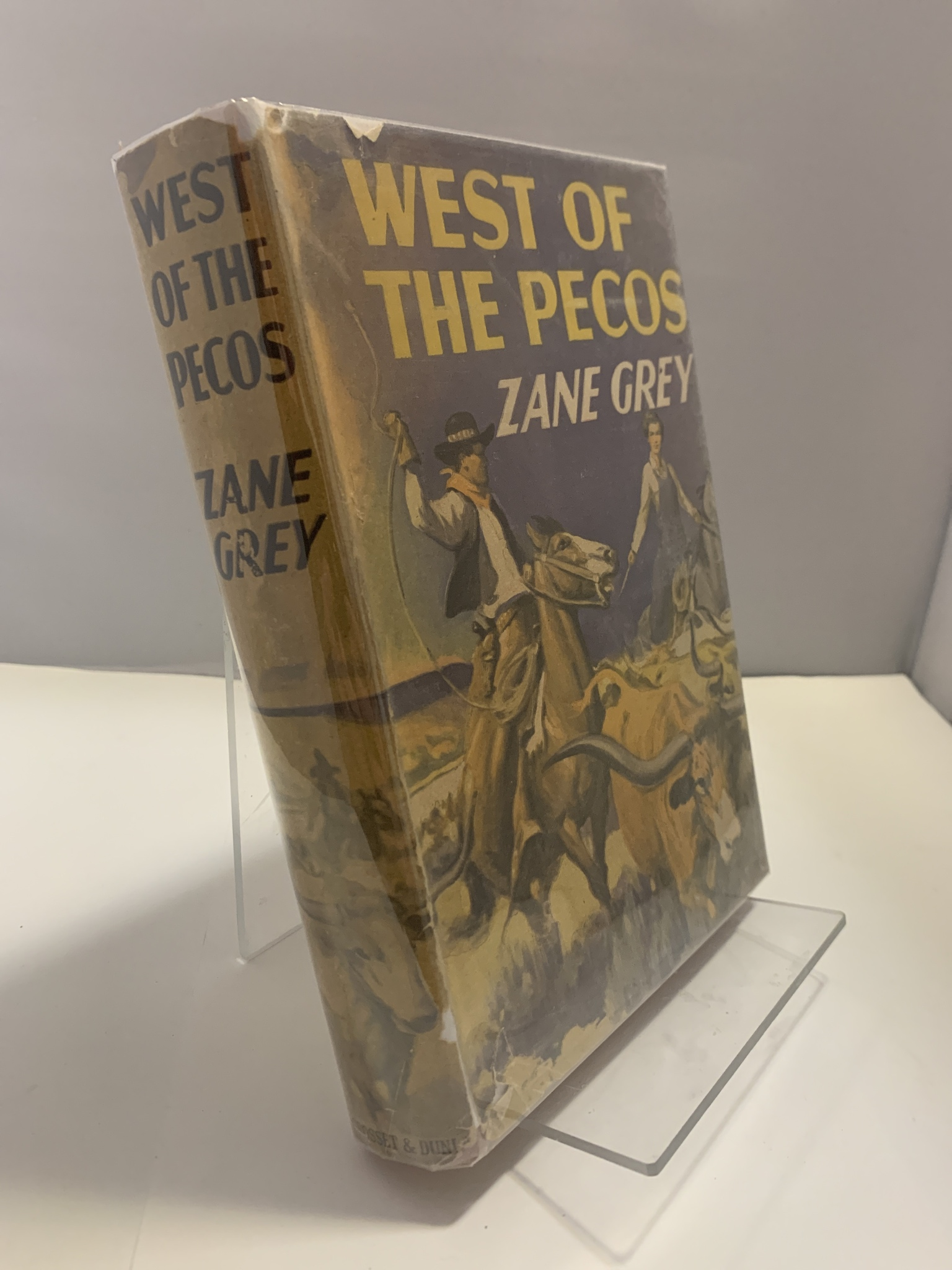 Image for West of the Pecos [Great Western Edition, 48]