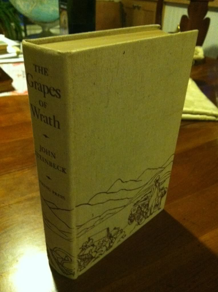 Image for The Grapes of Wrath 1st Edition by John Steinbeck 1939 HC w/o DJ by Steinbeck, John