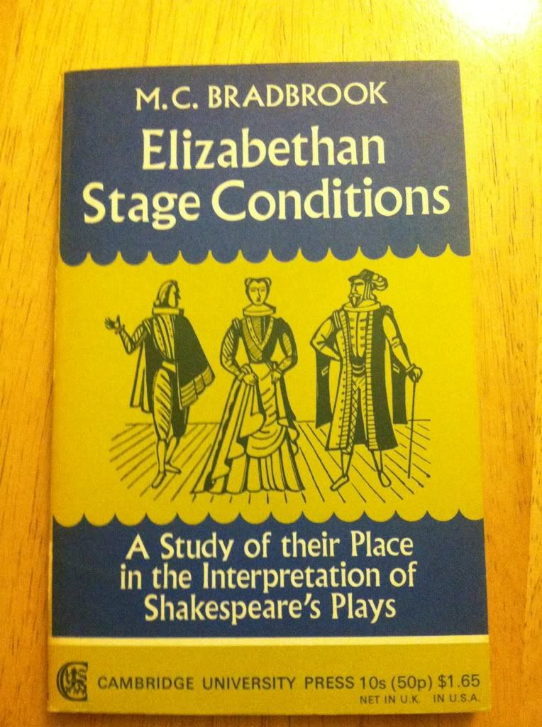 Image for ELIZABETHAN STAGE CONDITIONS. A Study of Their Place in the Interpretation of Shakespeare's Plays.