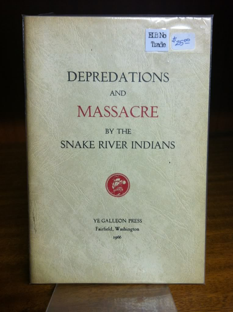 Image for Depredations And Massacre By The Snake River Indians.