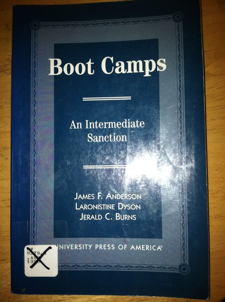 Image for Boot Camps: An Intermediate Sanction