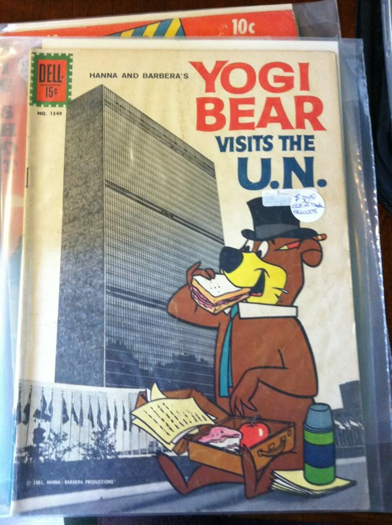 Image for Yogi Bear (1960 series) #1 FC #1349