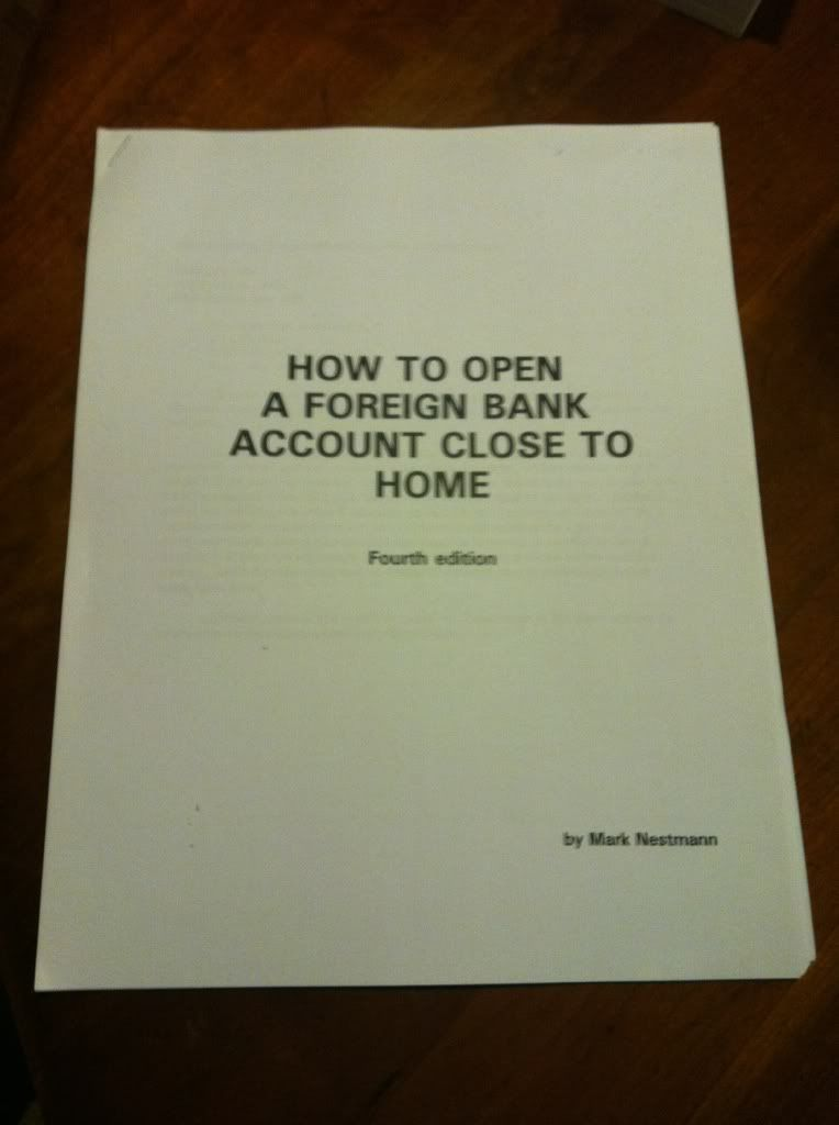 Image for How to open a foreign bank account close to home
