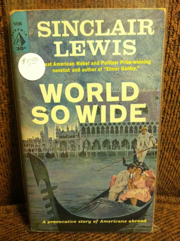 Image for World So Wide by Sinclair Lewis