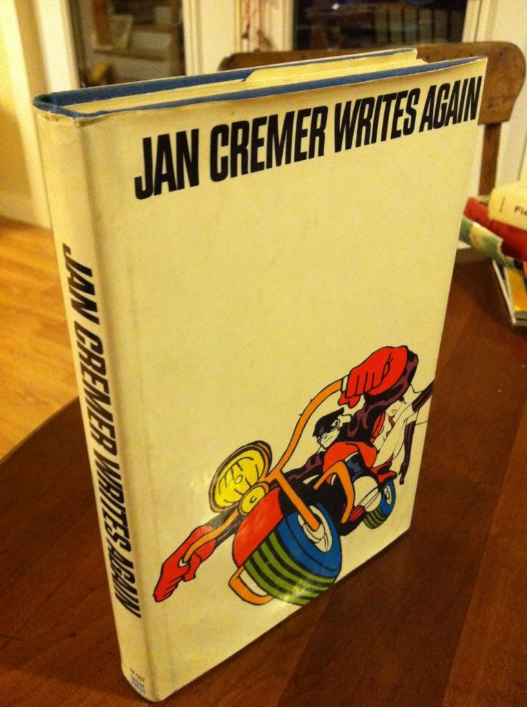 Image for JAN CREMER WRITES AGAIN - sequel to I Jan Cremer