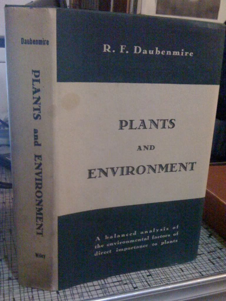 Image for Plants and Environment by Daubenmire, R.F.
