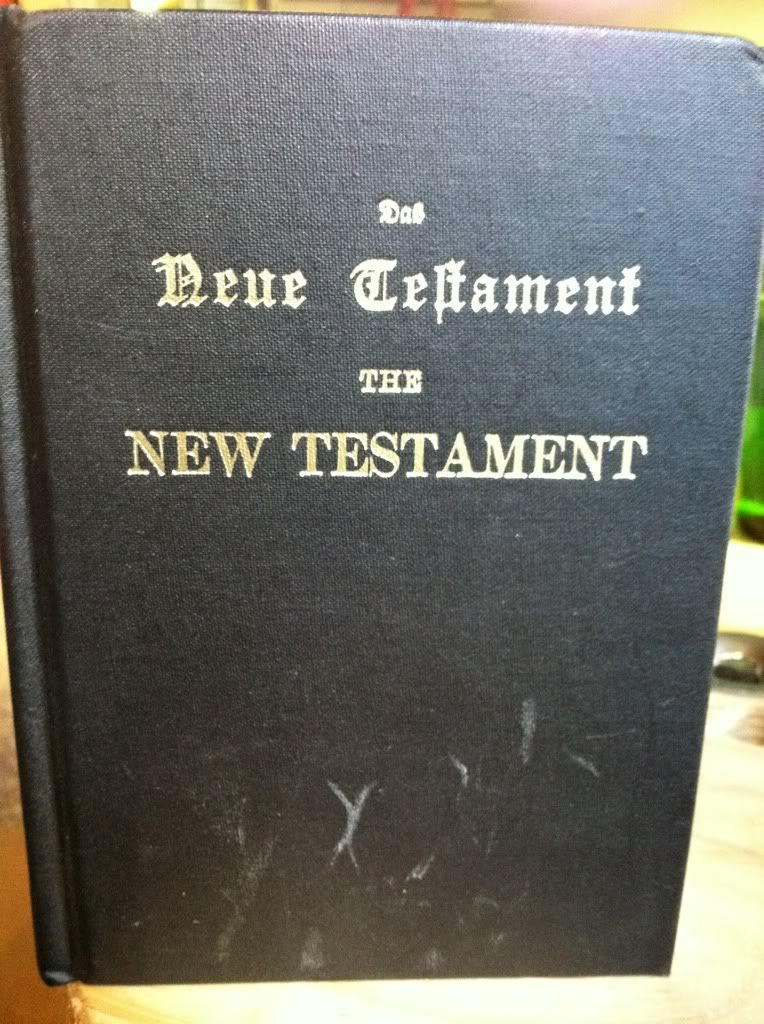 Image for The New Testament (German-English Edition)