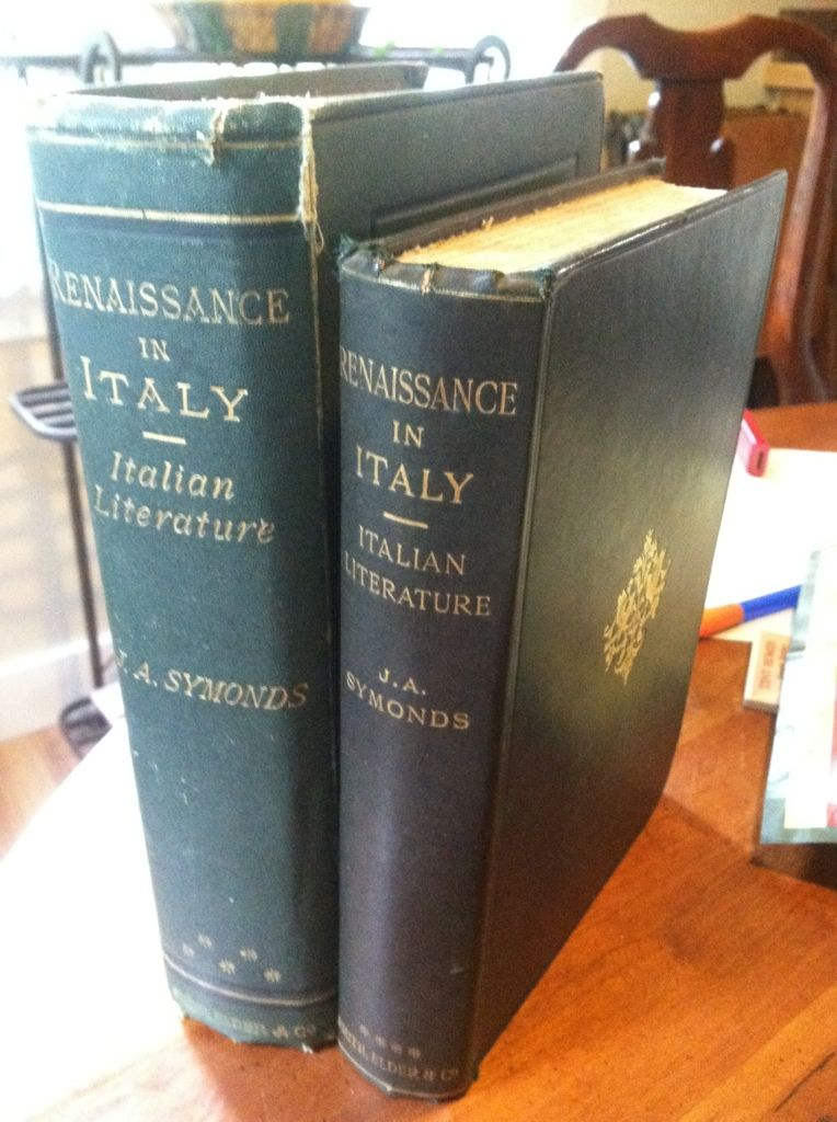 Image for Renaissance in Italy: Italian Literature in Two Parts by Symonds, John Addington