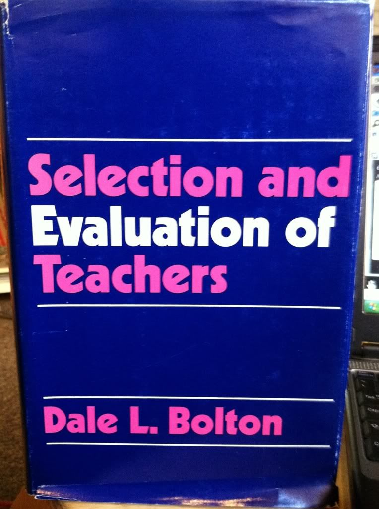 Image for Selection and Evaluation of Teachers