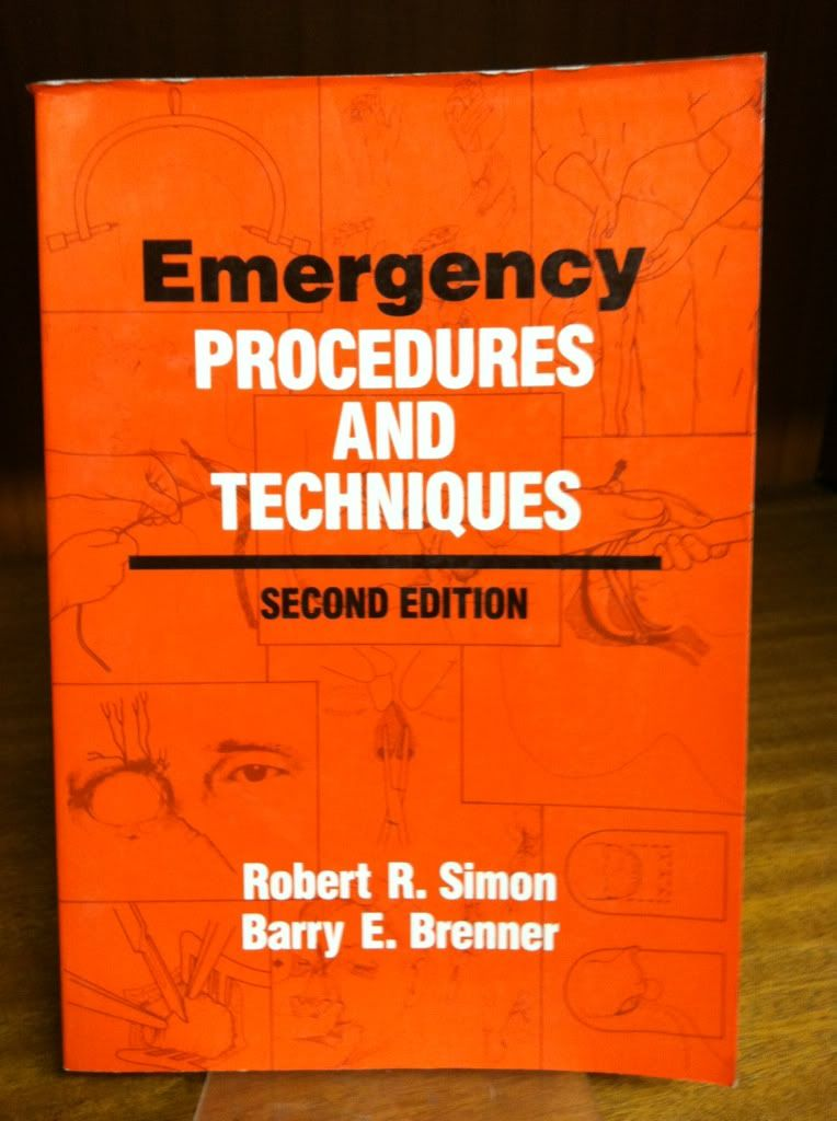 Image for Emergency procedures and techniques