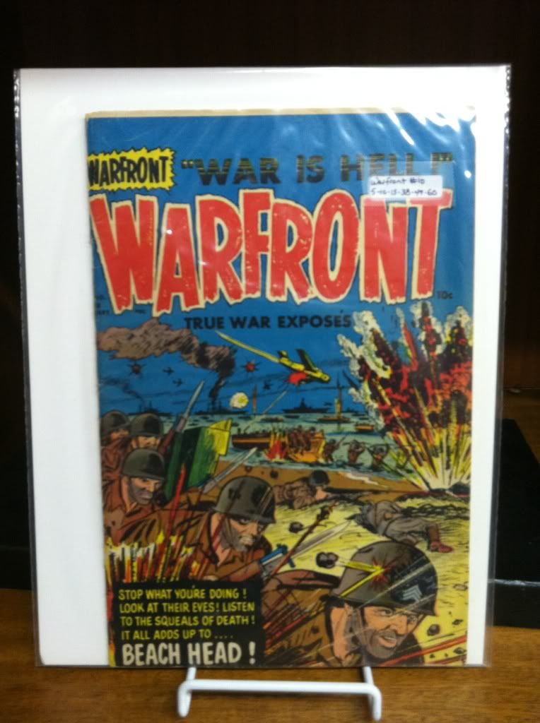 "Image for Warfront #10 ""War is Hell"" True War Exposes by n/a"