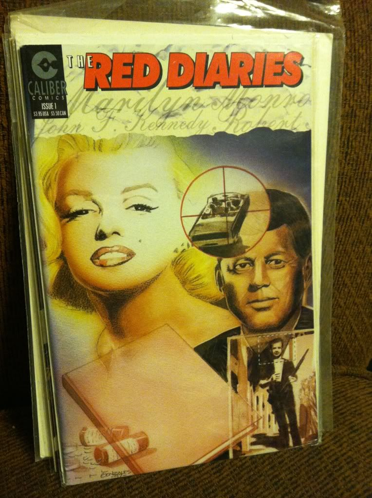 Image for The Red Diaries (#1)