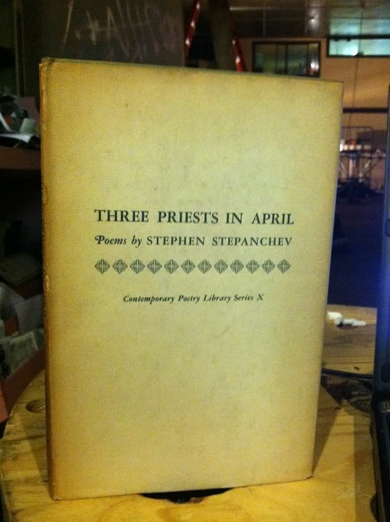 Image for Three Priests In April by Stepanchev, Stephen