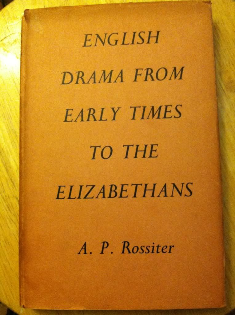 Image for English Drama from Early Times to the Elizabethans